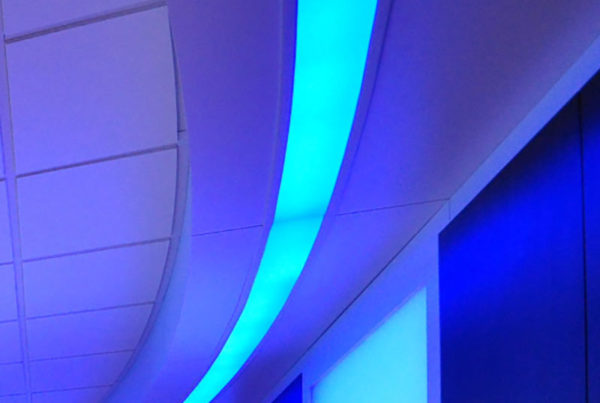 MRI LED Colored Lighting for improved MRI experience