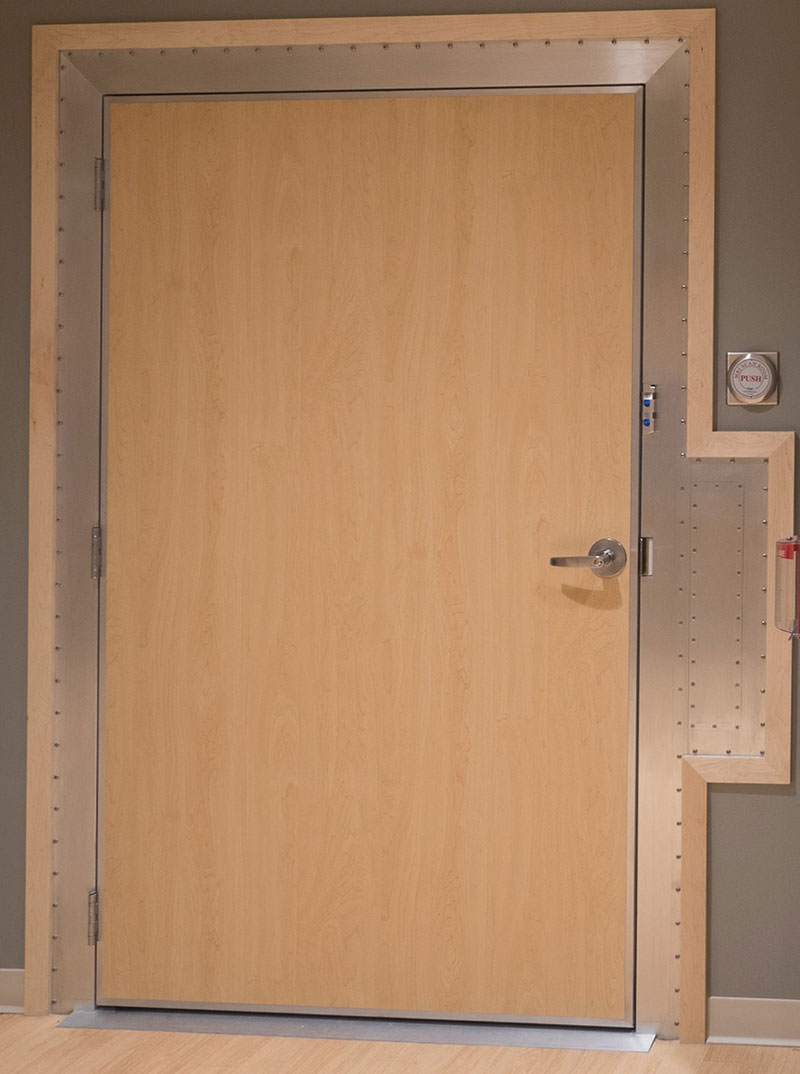 MRI Auto RF Door with Waveguide - PDC Facilities Inc