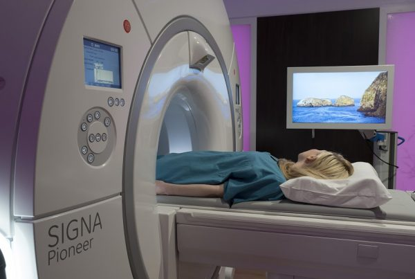 Caring MR Suite MRI in-bore viewing to reduce MRI anxiety, sedation - and improve MRI experience