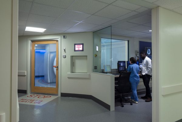 All Glass MRI RF Door with Privacy Glass