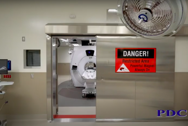Intraoperative Sliding MRI RF Door