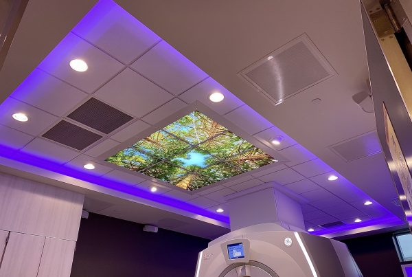Kaiser Illuminated Image Ceiling with MRI Lighting - white, colored and task